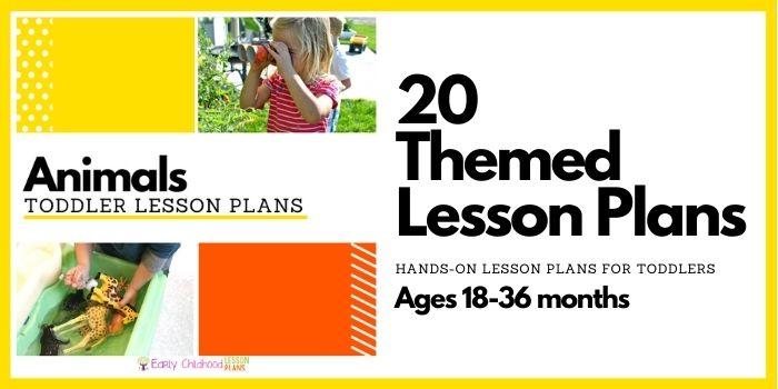 toddler animals lesson plans