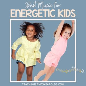 the best music for energetic kids