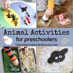 Fun Animal Activities for Preschoolers