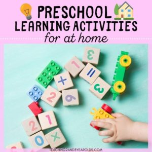 Ultimate List of 50+ At-Home Preschool Activities