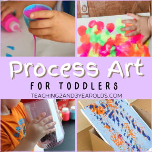 Easy Toddler Process Art Activities