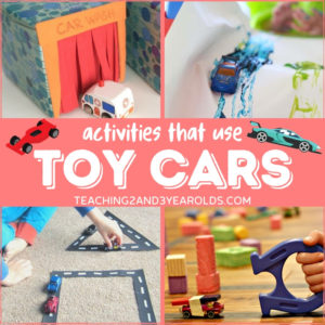 Preschool Toy Car Activities