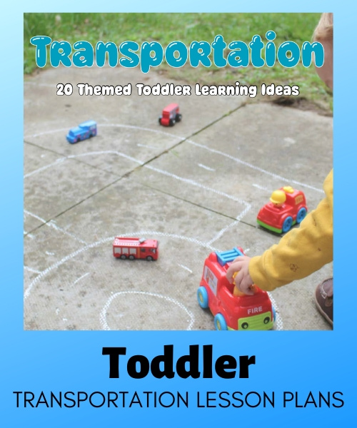 toddler transportation lesson plans