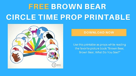 Brown Bear, Brown Bear, What Do You See Printable