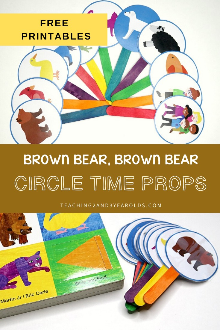 Brown Bear, Brown Bear What Do You See Printable