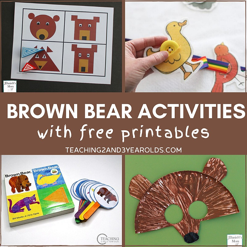 Brown Bear, Brown Bear, What Do You See Activities
