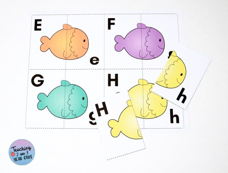 Fish Alphabet Printable Activity