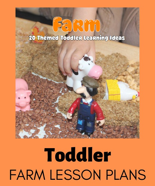 toddler farm lesson plans