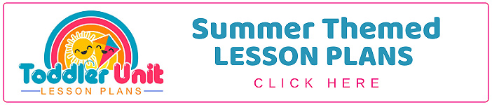 toddler summer themed lesson plans