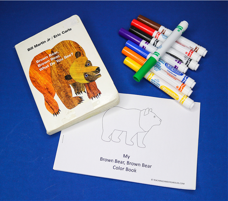 Brown Bear, Brown Bear What Do You See Printable Book