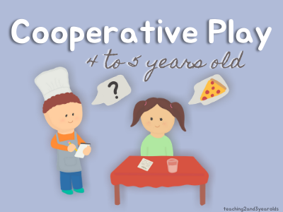 Cooperative Play Preschool Stages