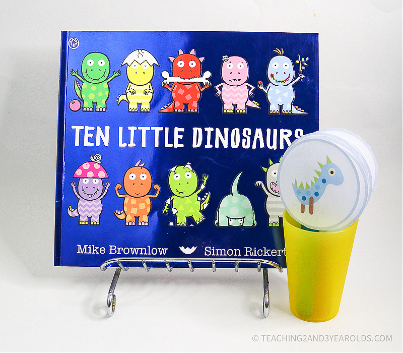 Ten Little Dinosaurs Circle Time Activity