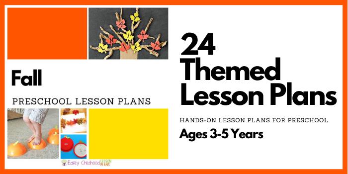 preschool lesson plans fall