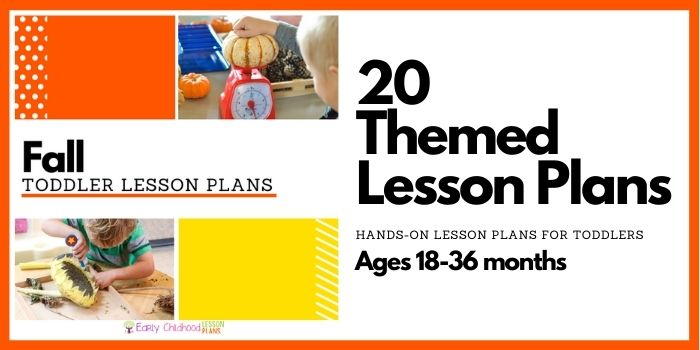 toddler lesson plans fall