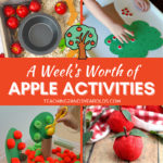A Week's Worth of Apple Learning Activities