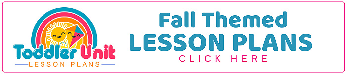 toddler fall lesson plans