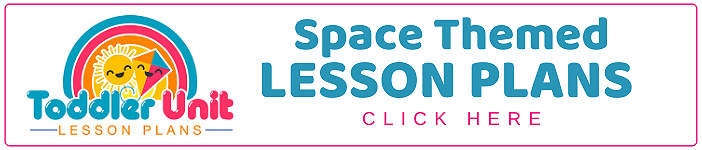 toddler space lesson plans