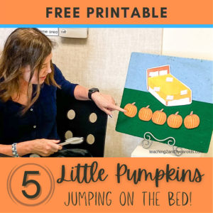 5 Little Pumpkins Activity