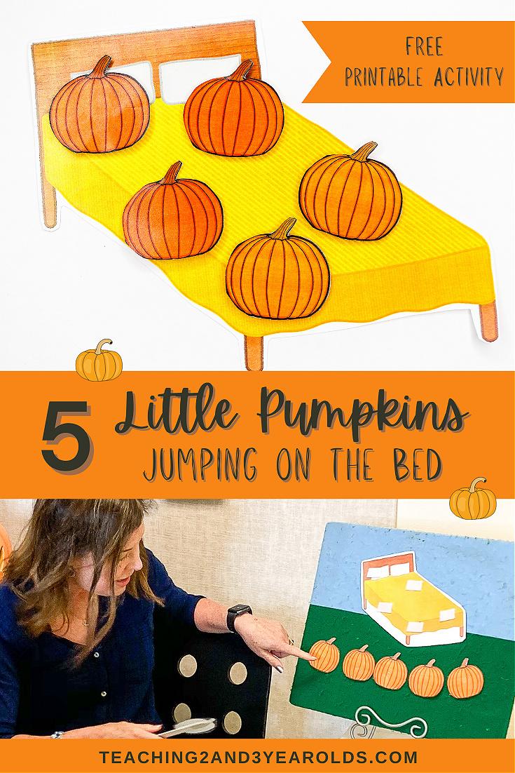 5 Little Pumpkins Activity