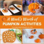 A Week's Worth of Pumpkin Learning Activities