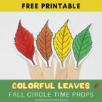 Leaf Themed Circle Time Activities