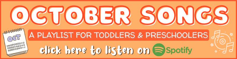 Preschool Playlist October