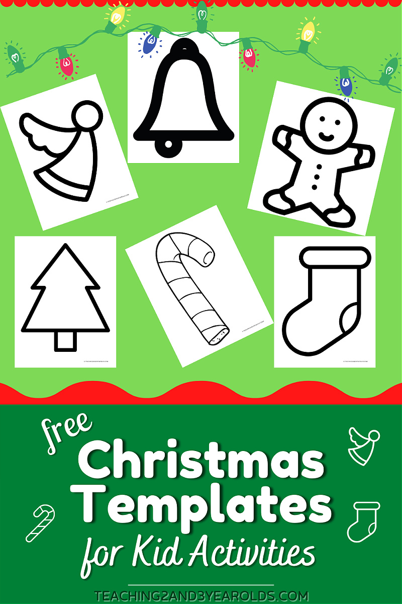Christmas Printable Templates for Kids