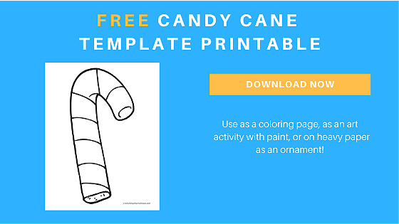candy cane printable template