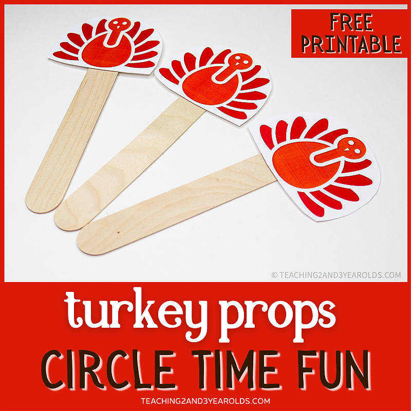 Preschool Thanksgiving Circle Time Activity