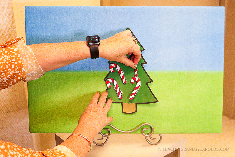 Five Little Candy Canes Activity for Circle Time