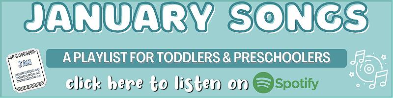 Preschool Songs for January