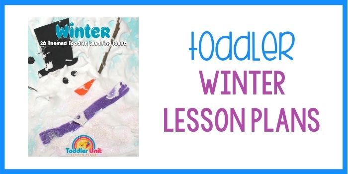 Toddler Lesson Plans Winter