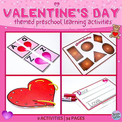 Valentine's Day Learning Packet
