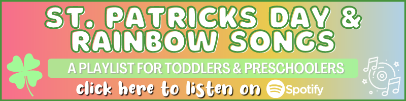 Preschool St. Patrick's Day Rainbows Playlist