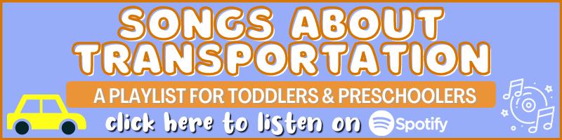 preschool playlist transportation