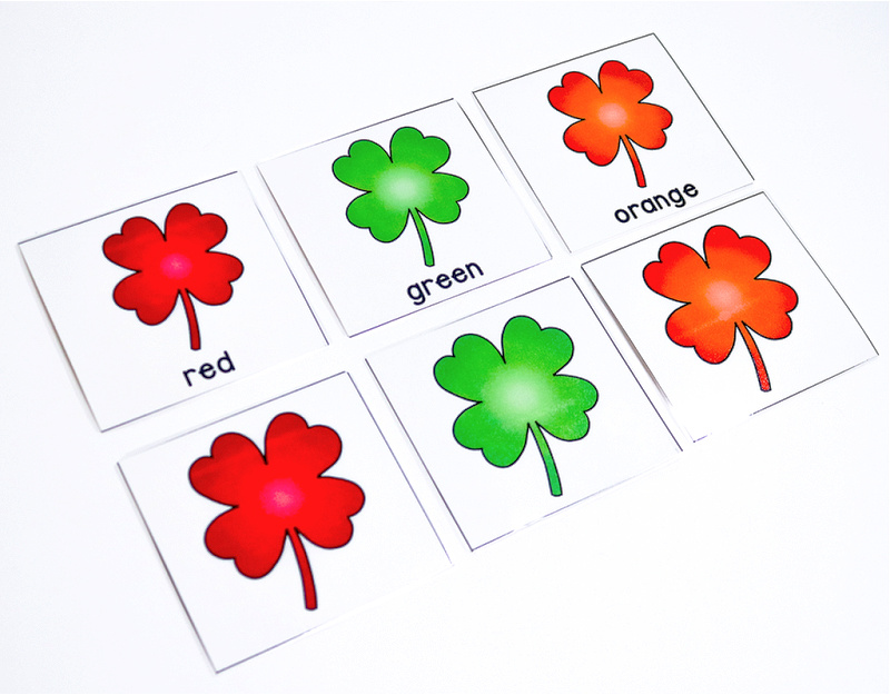 preschool St. Patrick's Day printable