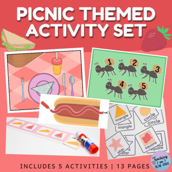 Picnic Themed Printable Activities