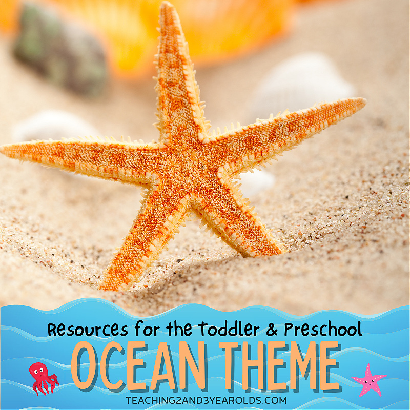 Toddler and Preschool Ocean Theme Resources