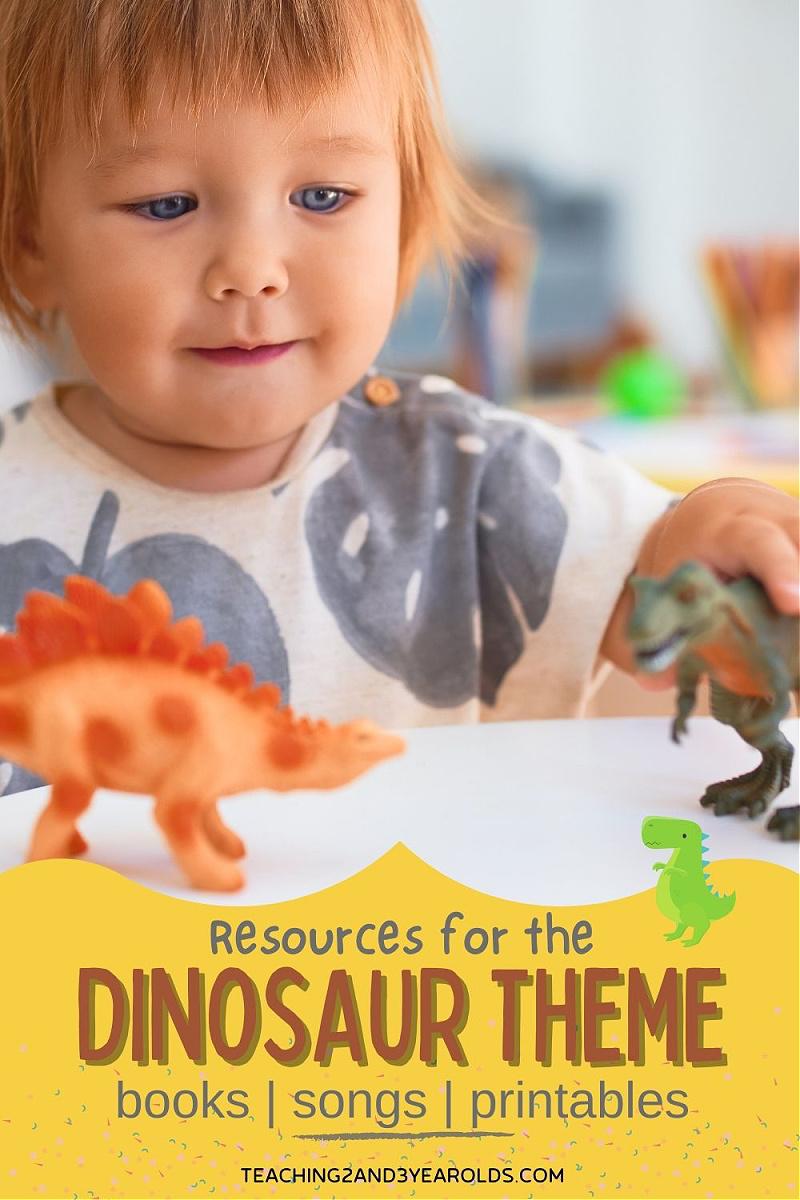 Toddler and Preschool Dinosaur Theme Resources