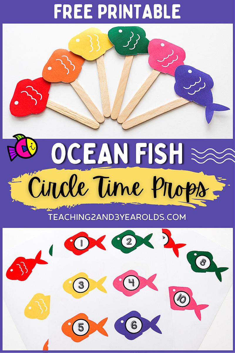 ocean theme circle time props