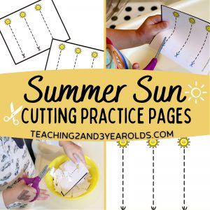 Summer Cutting Cards
