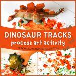toddler dinosaur art