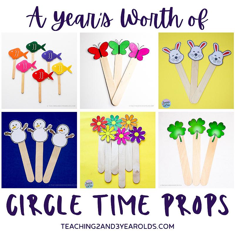 preschool circle time props