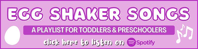 preschool songs for egg shakers