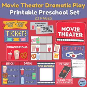 movie theater dramatic play