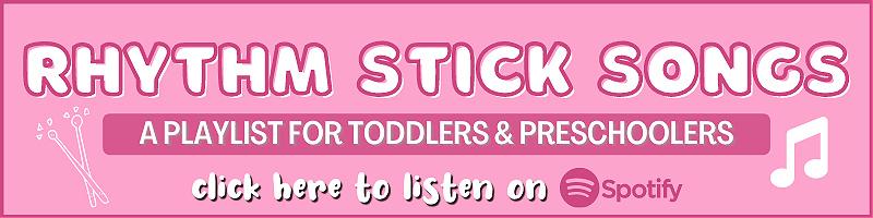 preschool songs for rhythm sticks